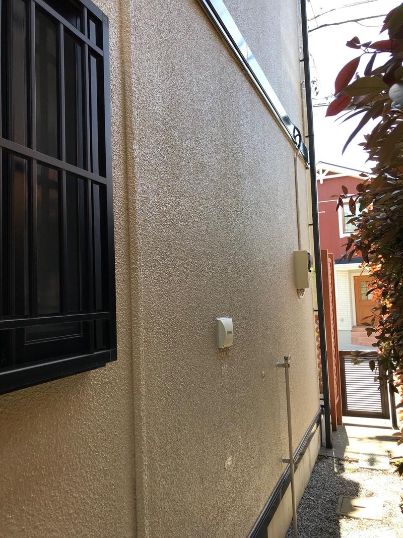 外壁パーフィクトトップで上塗り