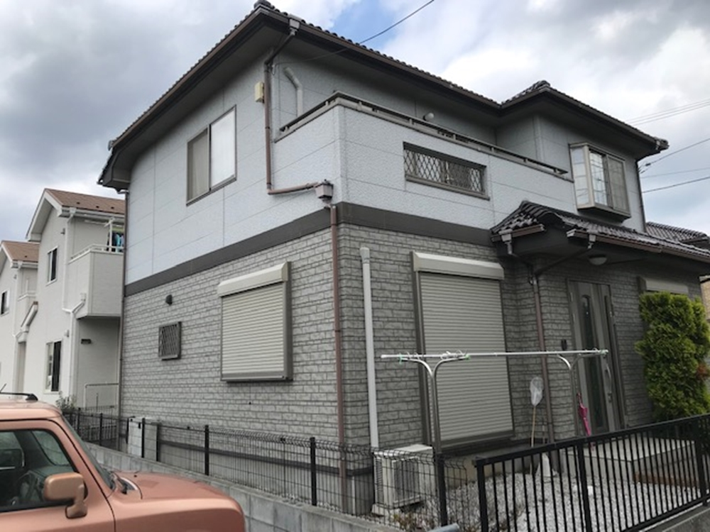 外壁塗装前状態