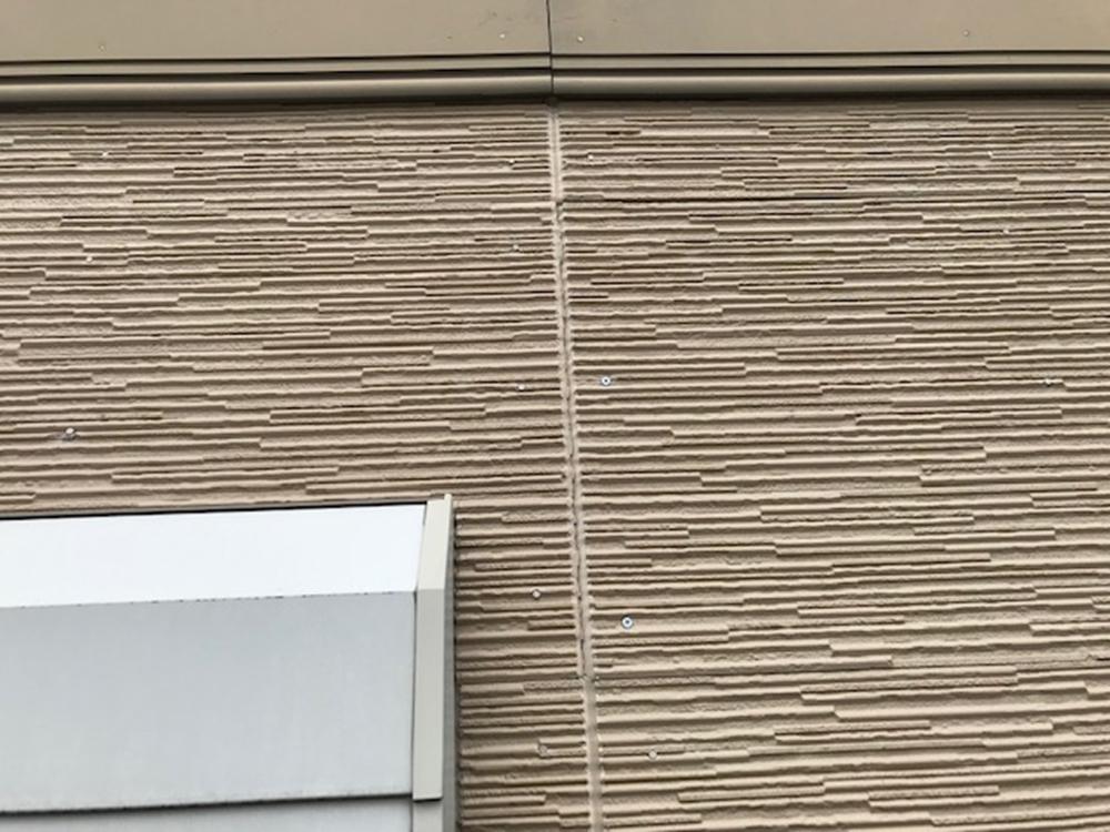 サイディング壁ビスうち