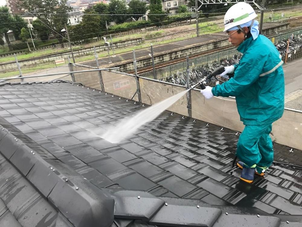 日本瓦高圧洗浄
