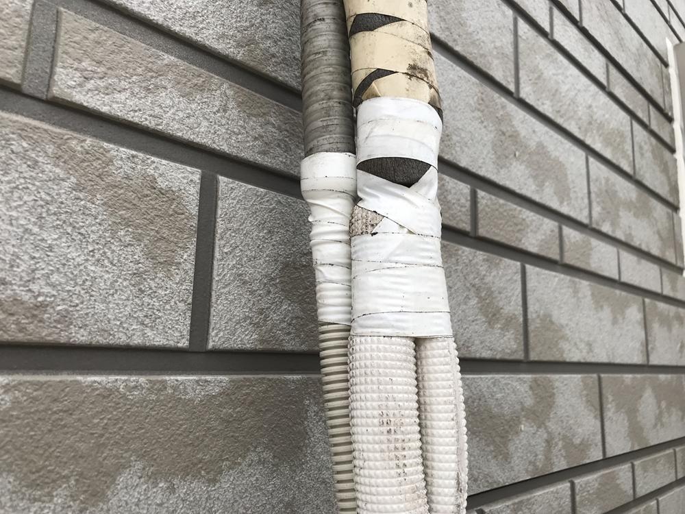 エアコン配管補修
