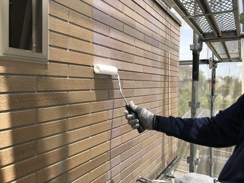 さいたま市北区のサイディング外壁を透明無機ハイブリッド塗料で塗装