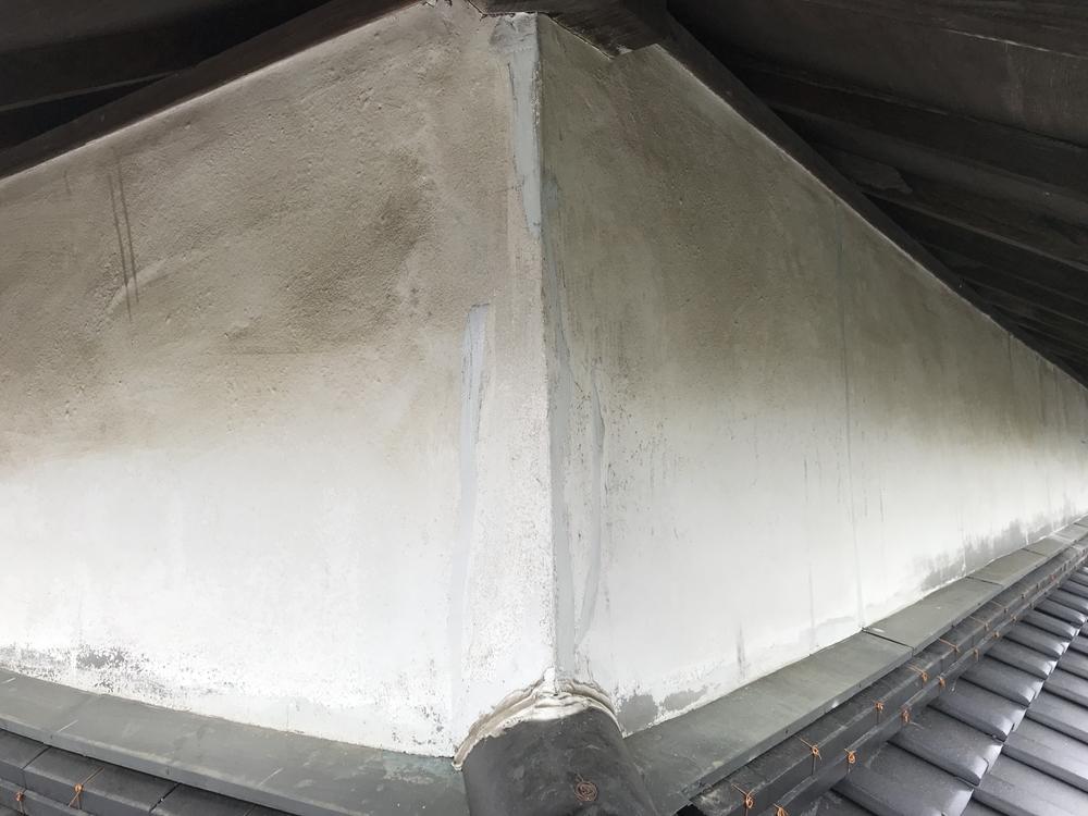 補修漆喰壁