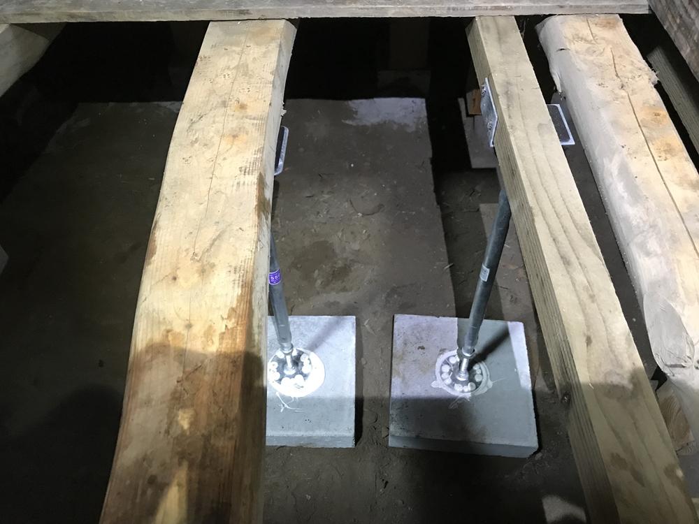 床下補修・垂木補強