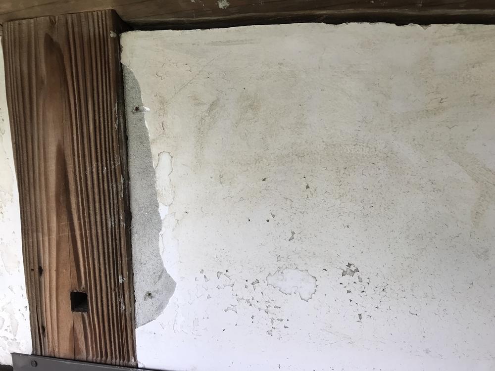 漆喰補修壁