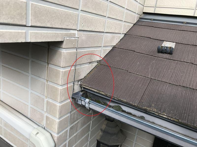 さいたま市岩槻区外壁塗装前点検