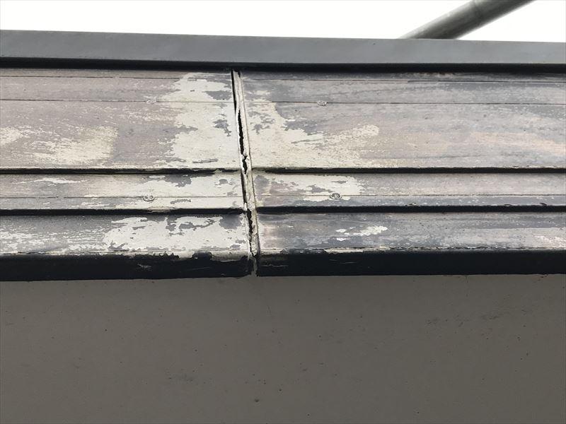 破風板の傷み