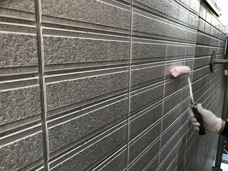 さいたま市岩槻区外壁塗装下塗り
