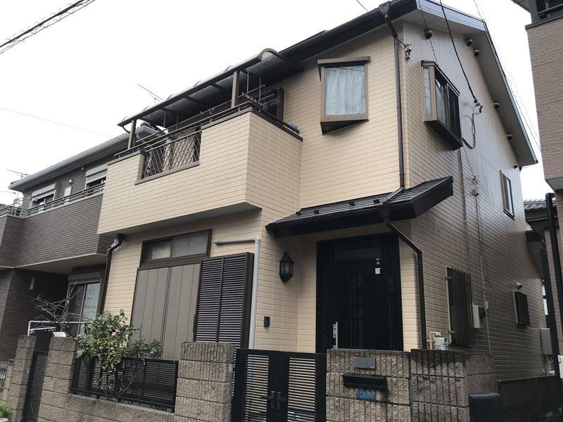 外壁塗り替え完了したさいたま市岩槻区の家