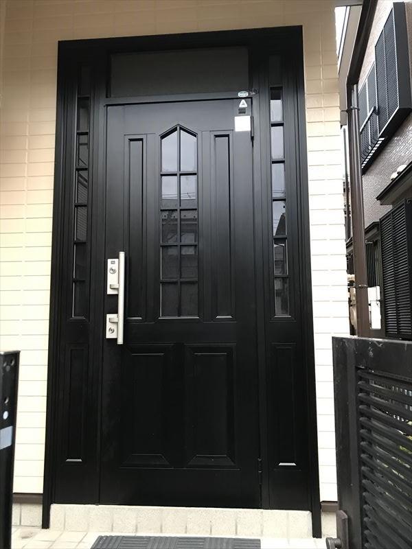 玄関ドアコーティング