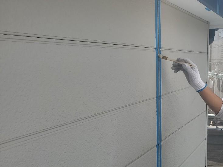 上尾市外壁塗装目地メンテナンス2階シーリング打替えプライマー塗布