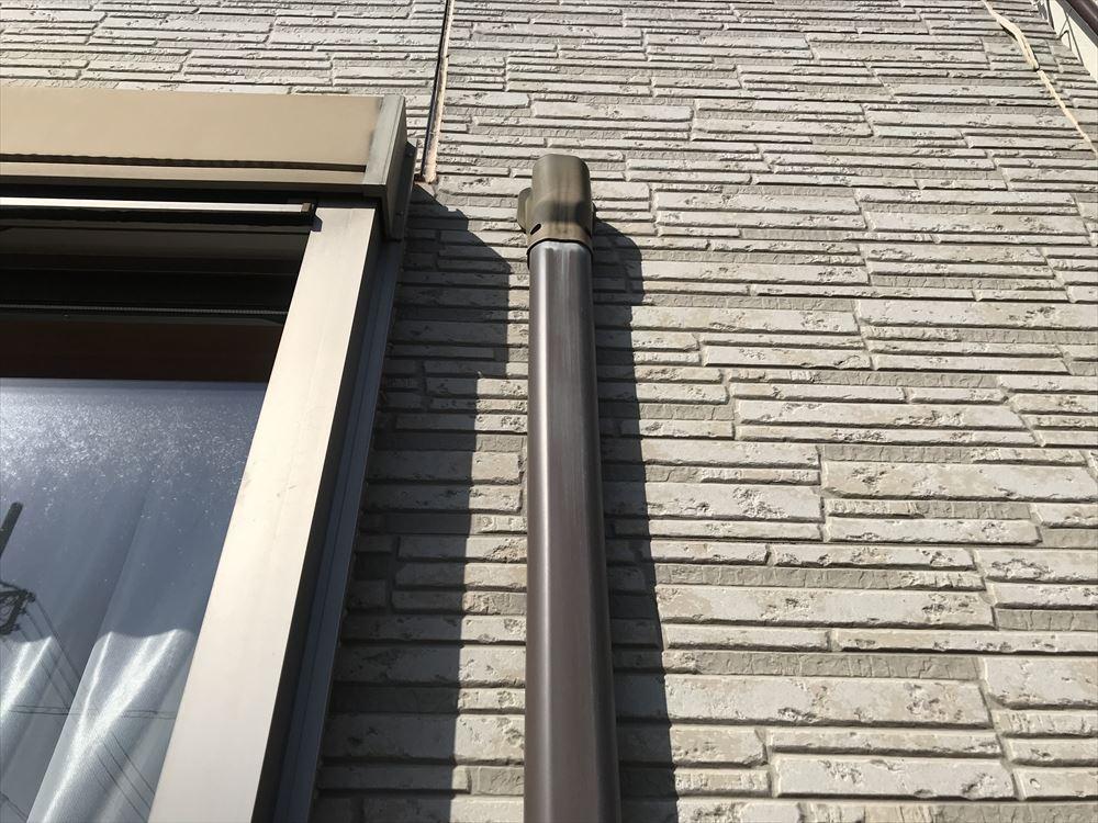 エアコン配管カバー劣化