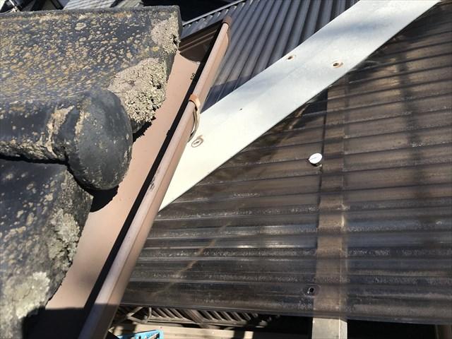 蓮田市無料点検 軒天材が腐食場所の屋根状態