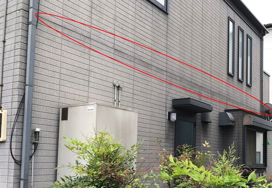 桶川市のサイディング外壁不良賃貸住宅点検