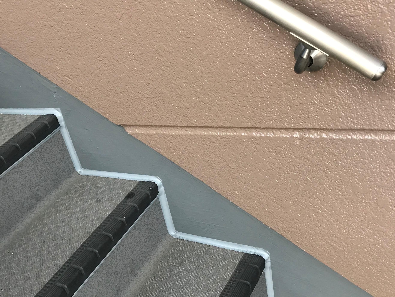 さいたま市北区マンション外壁塗装1Fから2F
