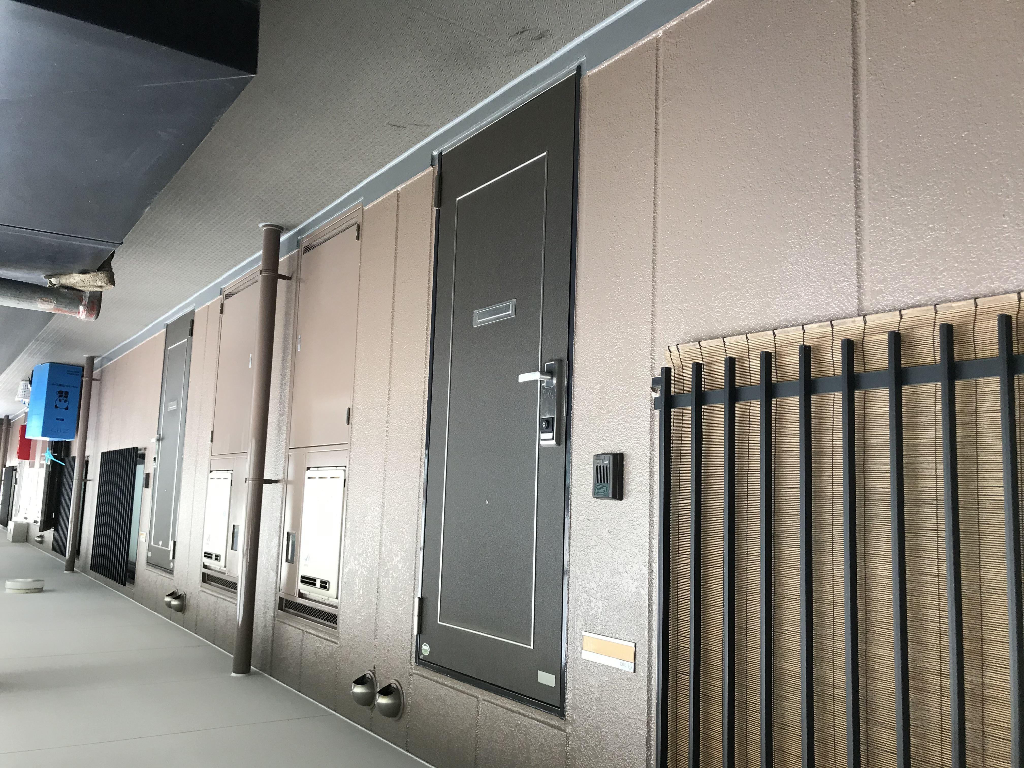 さいたま市北区マンション補修3Fフロア塗装後