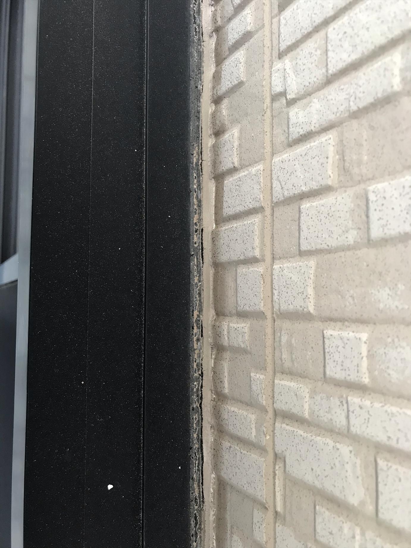 上尾市の外壁塗装無料点検 サイディング目地劣化