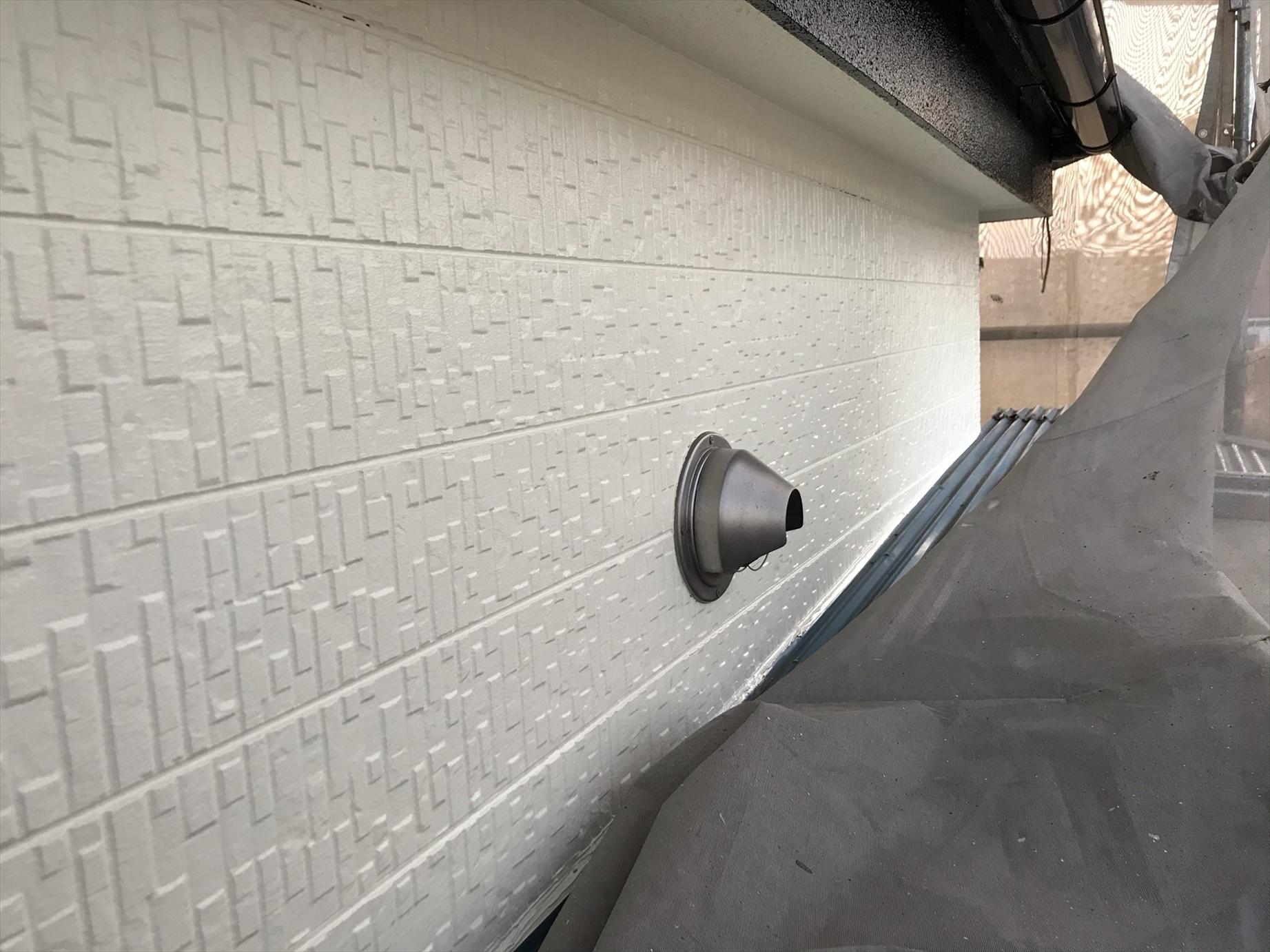 上尾市外壁塗装完了2階部分