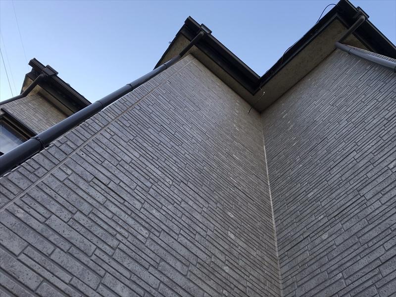 伊奈町の劣化した外壁サイディング