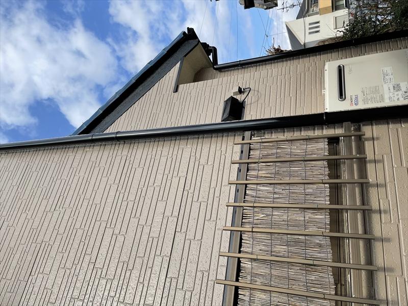 伊奈町外壁塗装工事完了後東側写真