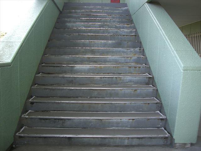 上尾市 階段点検