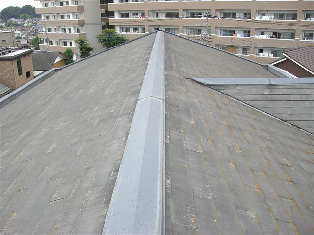 蓮田市マンション 屋根塗装前