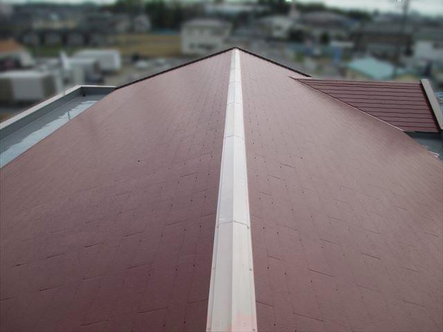 桶川市 屋根塗装後