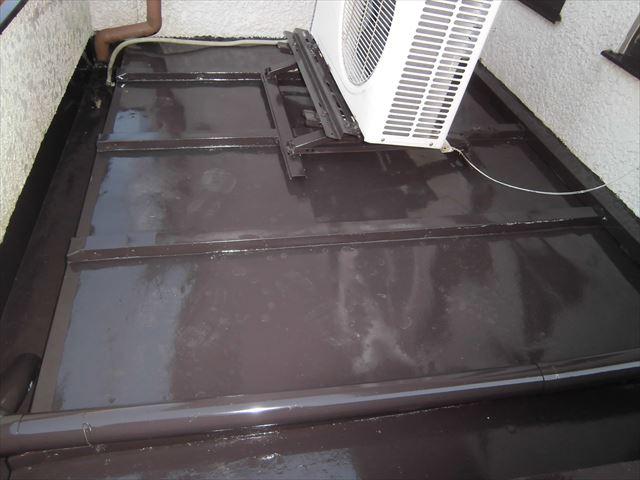 屋根トタン塗装完成
