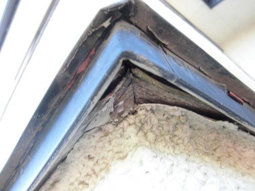 屋根 腐食部分