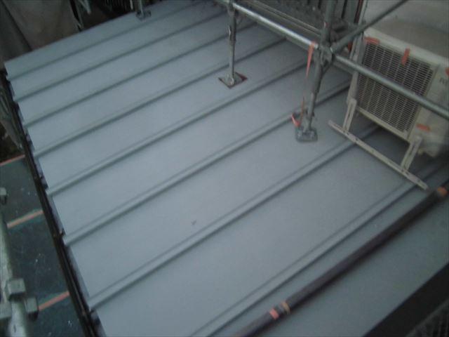 トタン屋根下塗工事