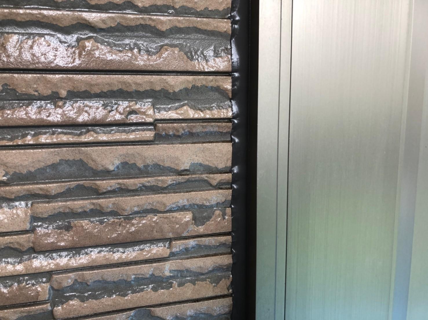 伊奈町外壁塗装時の「シーリング増し打ち」オートンイクシードで完了