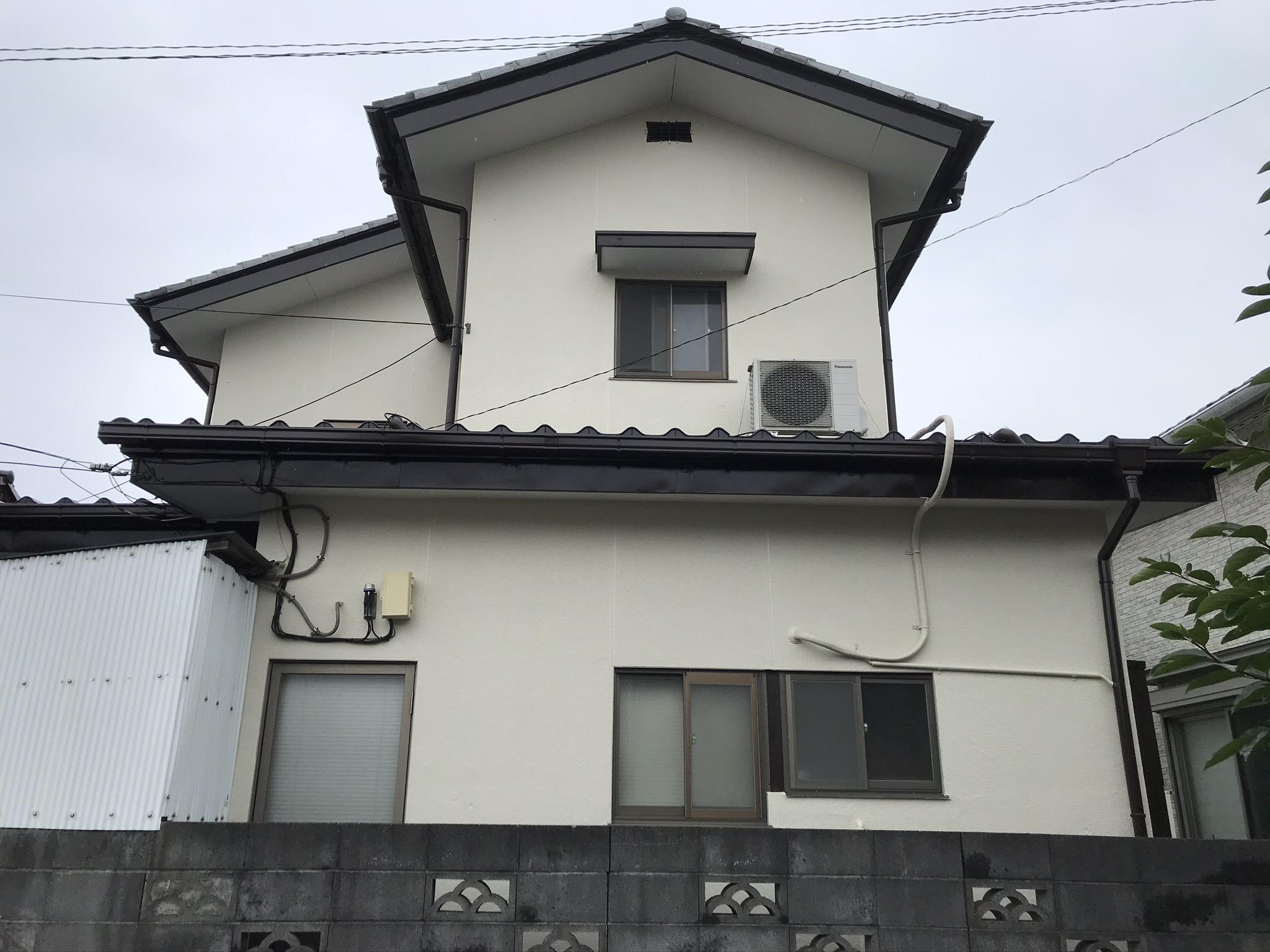 上尾市のM様邸外壁塗装後の写真