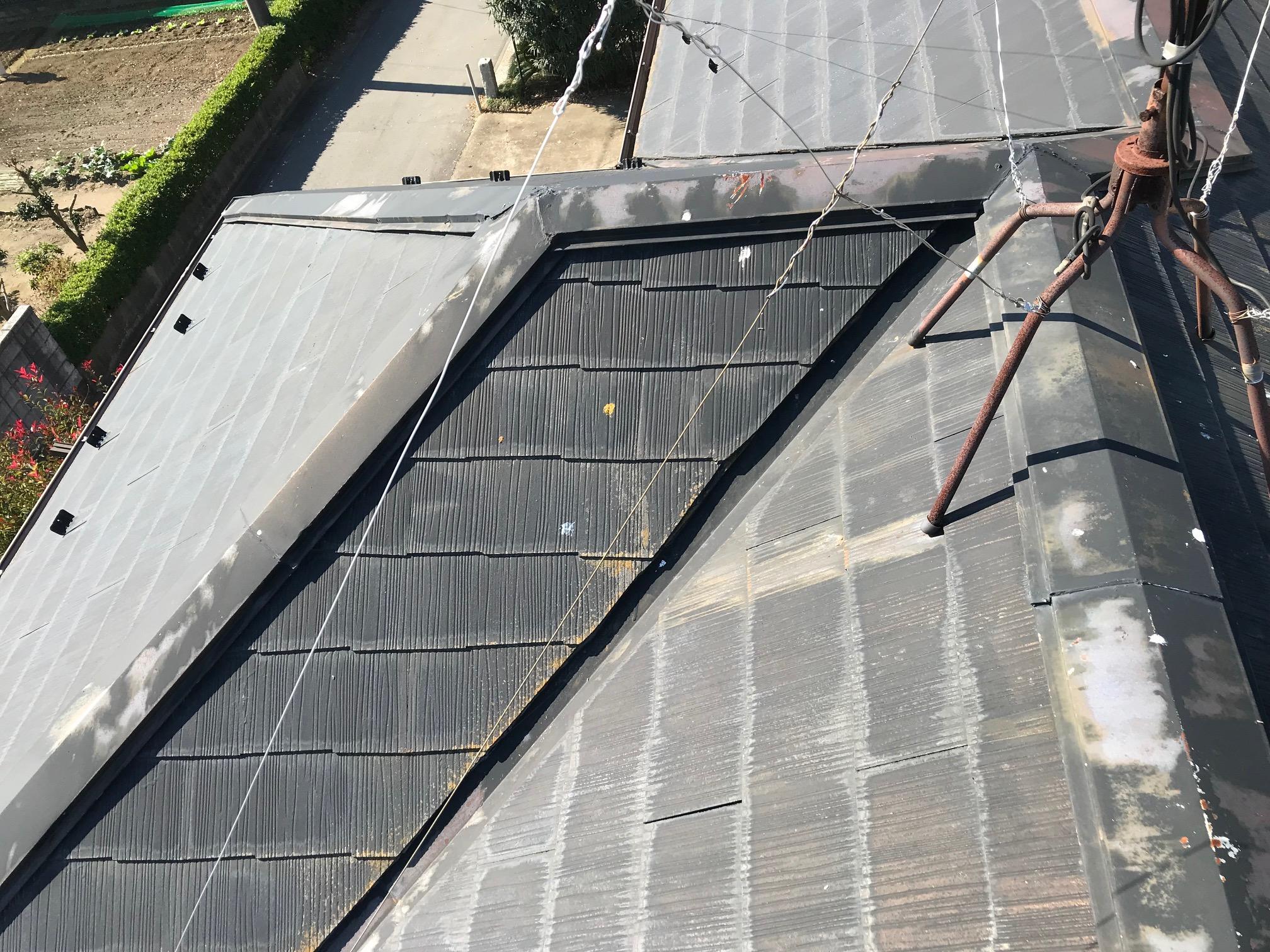 スレート瓦屋根点検