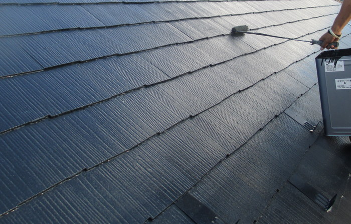 蓮田市 スレート屋根塗装