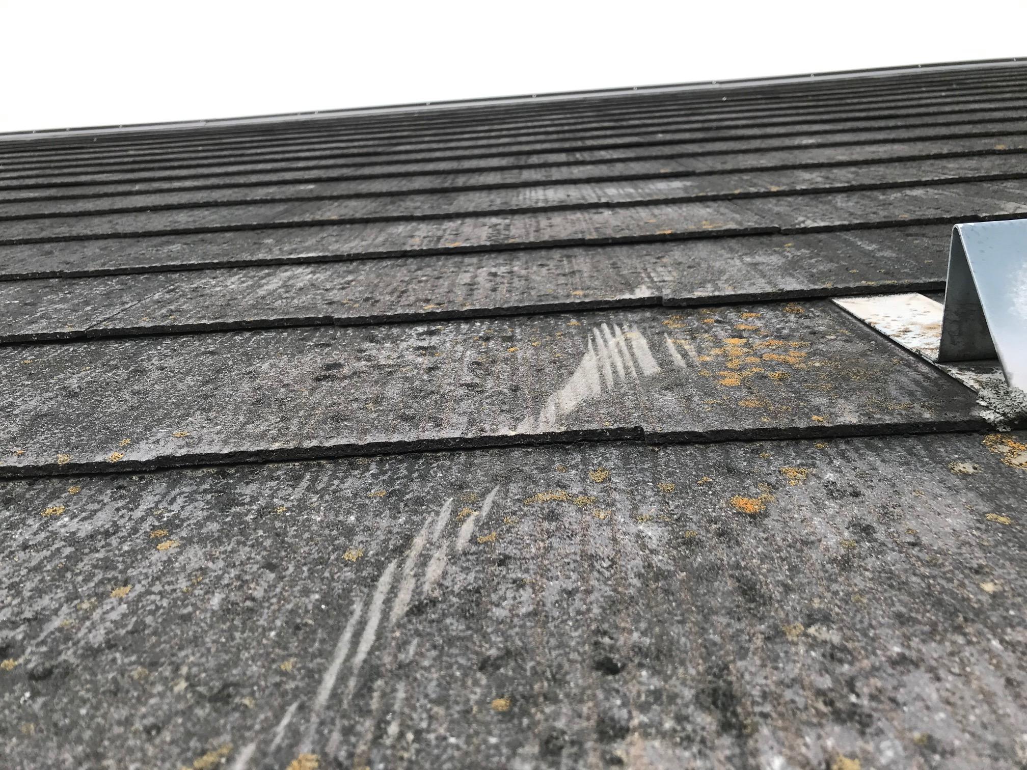 スレート屋根点検