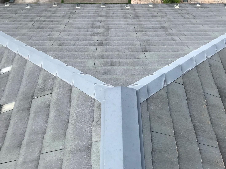 伊奈町学園で無料点検スレート屋根の南西部
