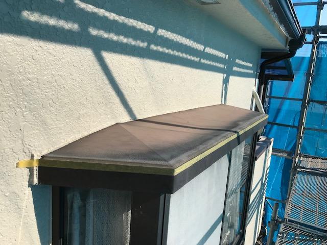 出窓庇塗装前