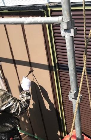 雨戸を「マックスシールド1500Si-JY」で塗装
