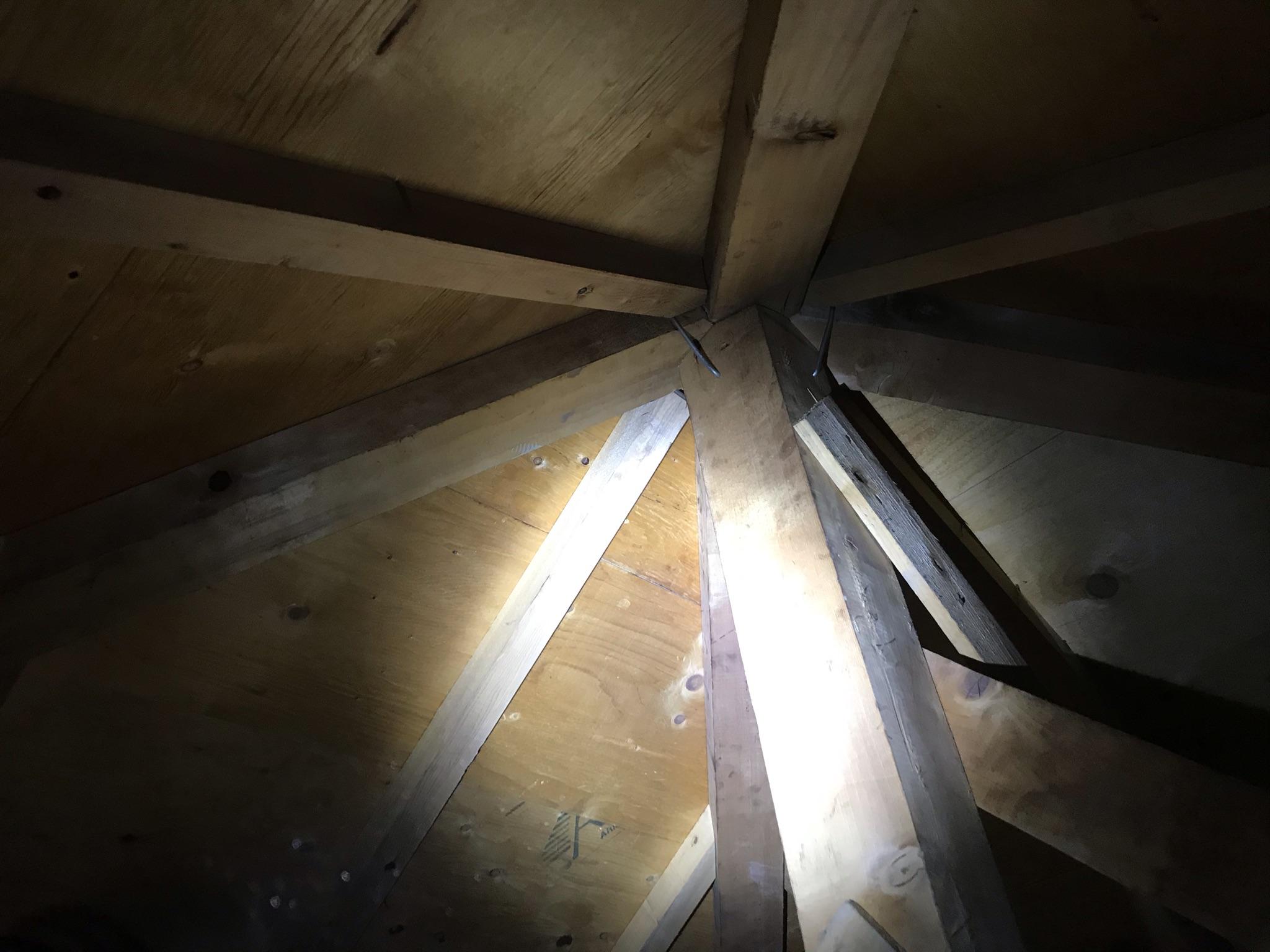 上尾市原市 築約20年のお宅から外壁塗装の現地調査と困っている雨漏りの原因箇所を調査依頼です