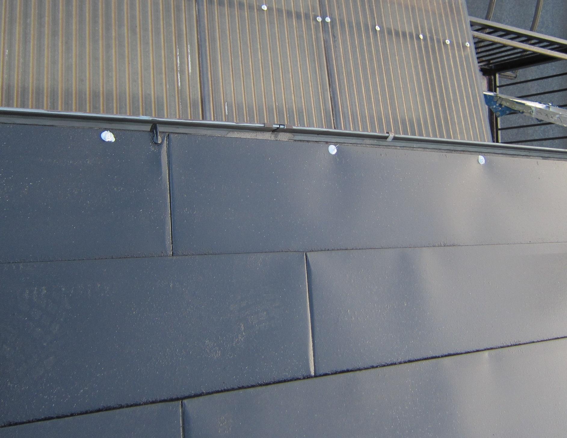 屋根釘浮き補修3