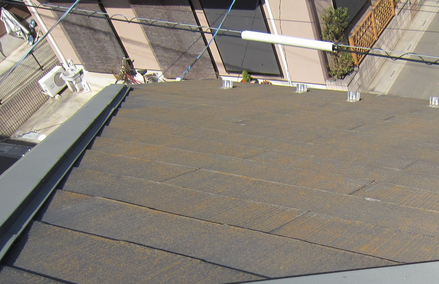 スレート屋根の劣化2