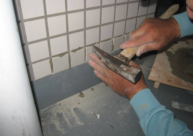 蓮田市 外壁タイル補修