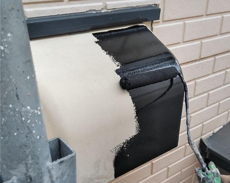 伊奈町賃貸一軒家外壁塗装付帯換気扇フード塗装