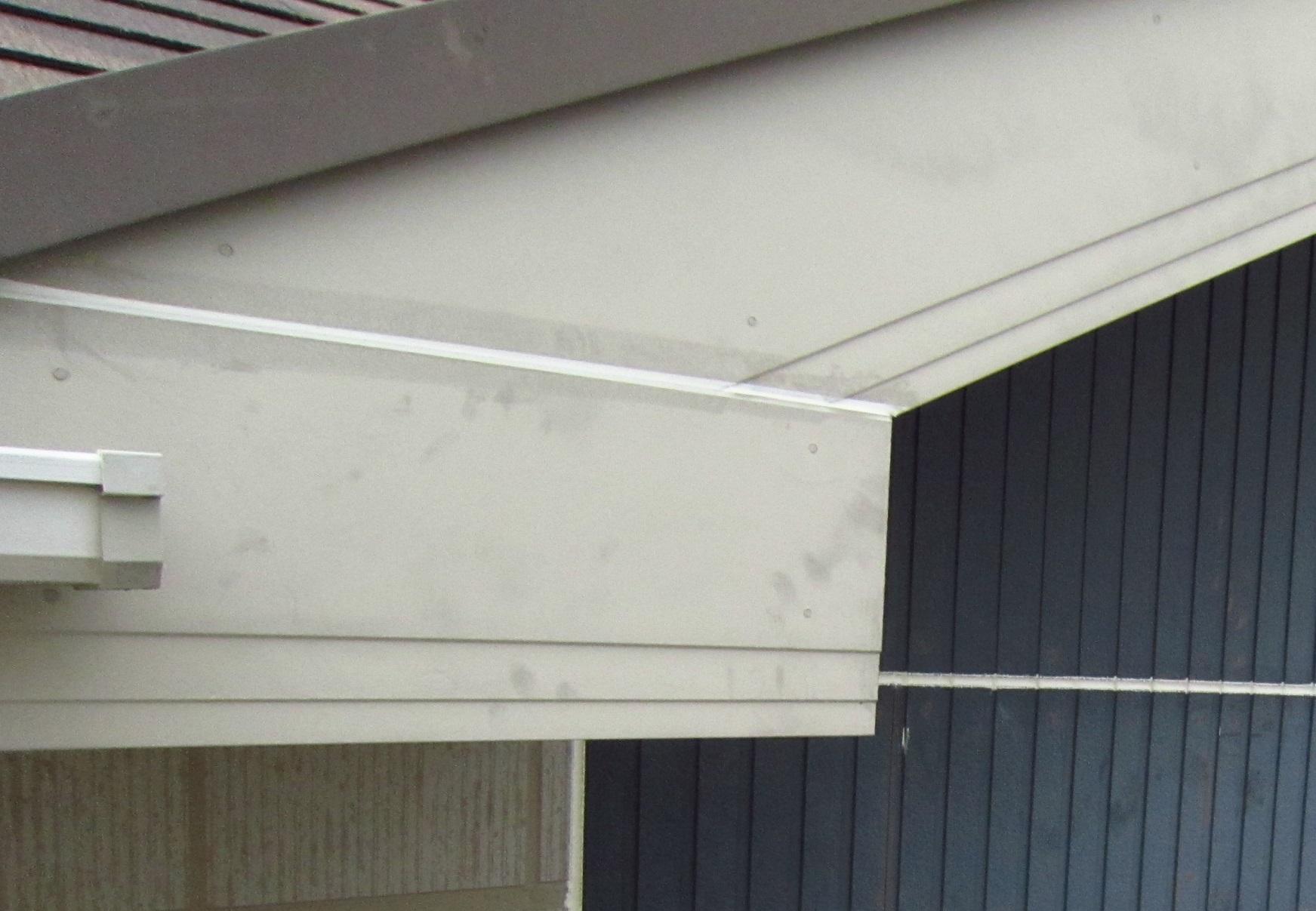 破風板の補修