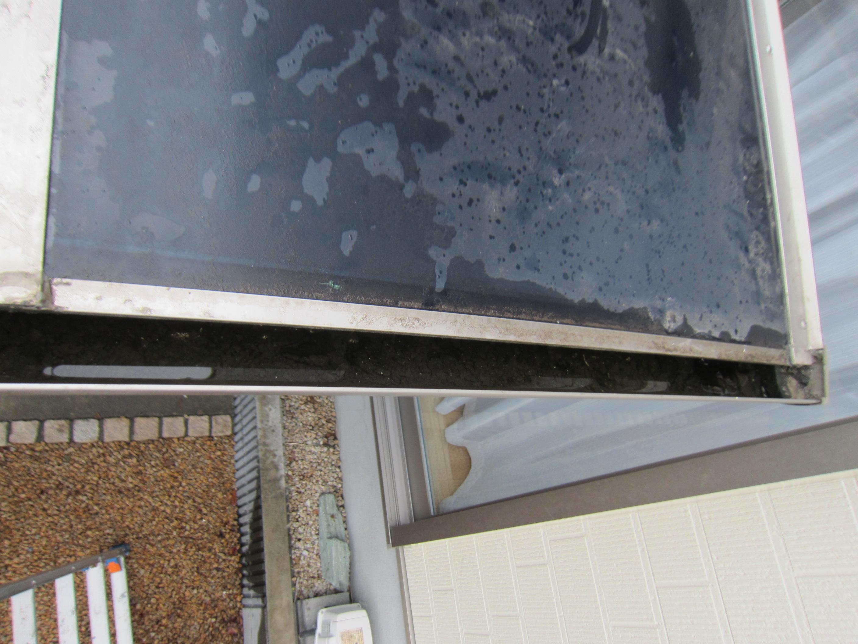 車庫屋根設置