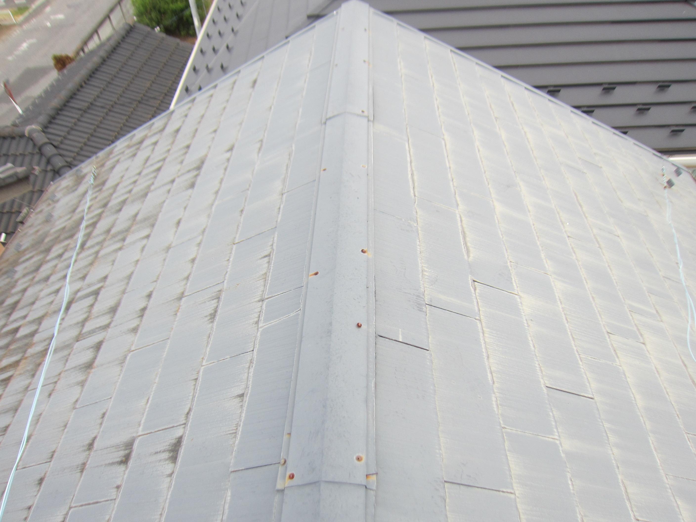 現地調査時のスレート屋根