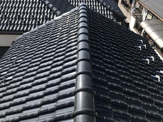 瓦屋根の現状