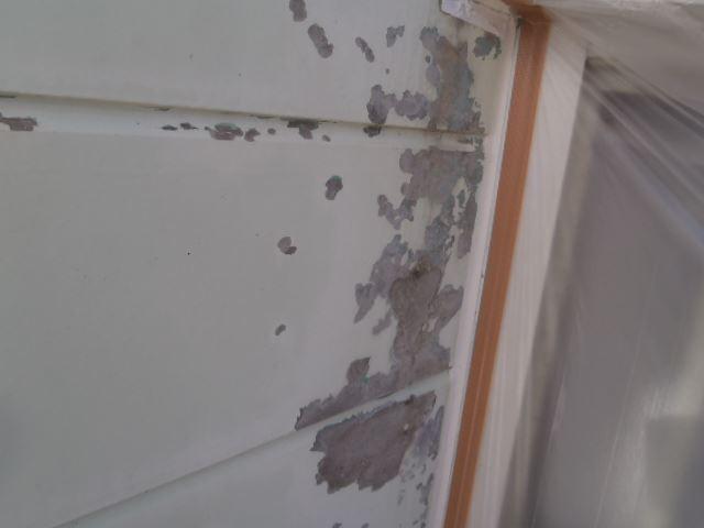 塗装前のサイディング外壁