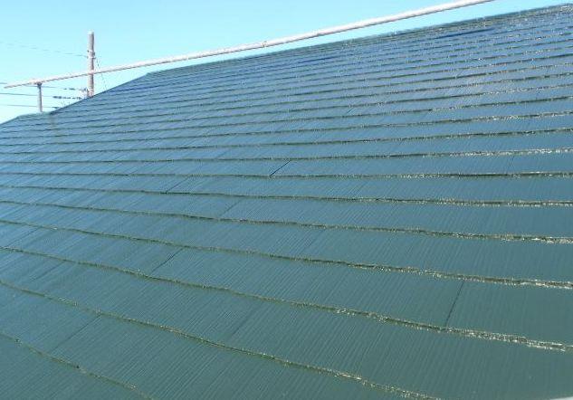 屋根塗装後 宮代町A様