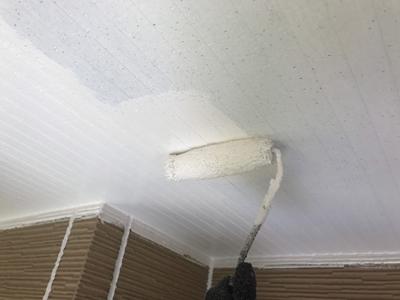 軒天塗装仕上げ